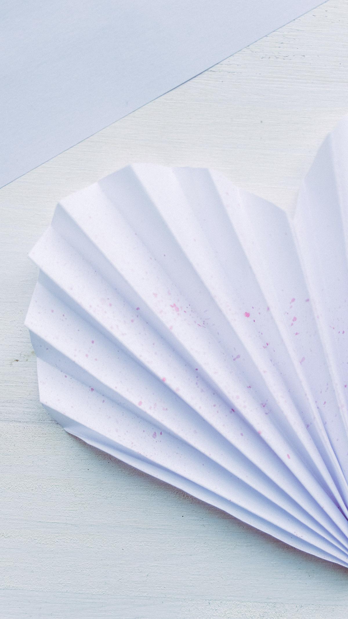 Einfache DIY Herzen aus Papier zum Valentinstag, Muttertag oder Geburtstag