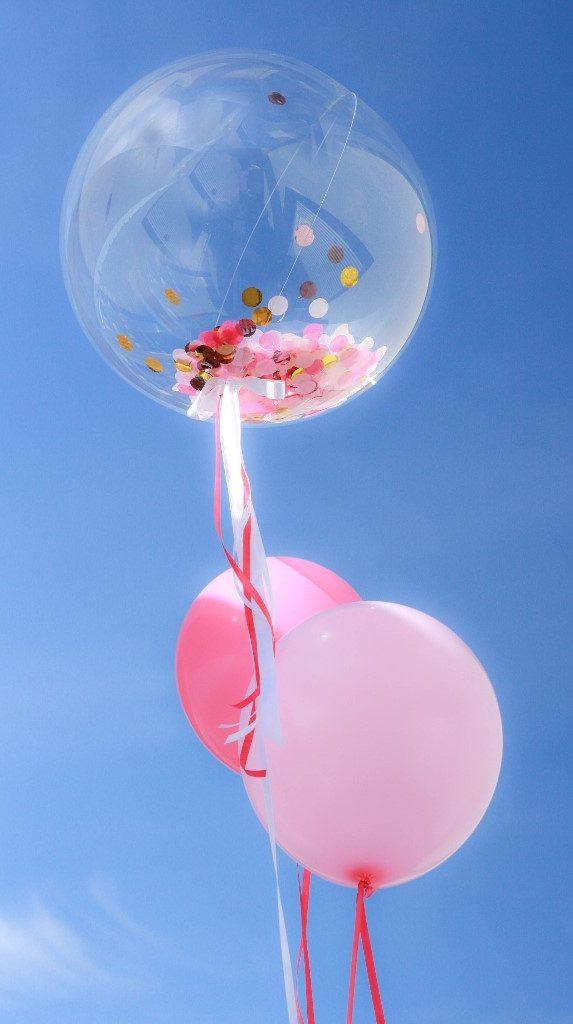 Konfetti Ballon für deine Party