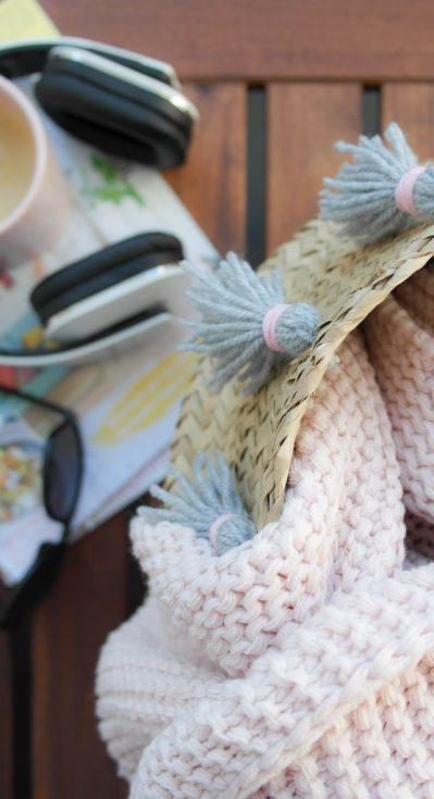 DIY Korb mit Tassels