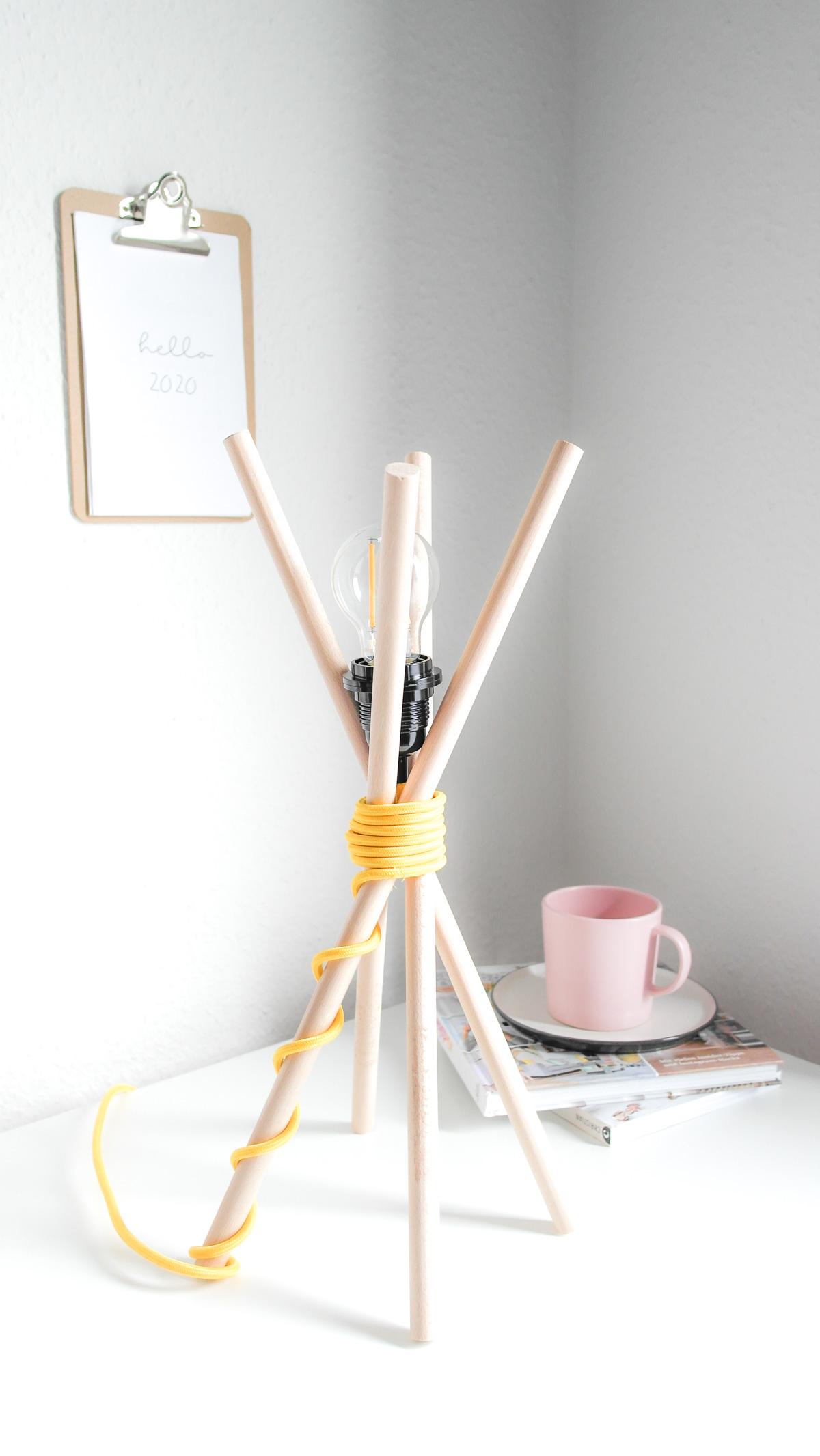 Wohntrends zum Selbermachen   3 einfache und günstige DIY-Lampen