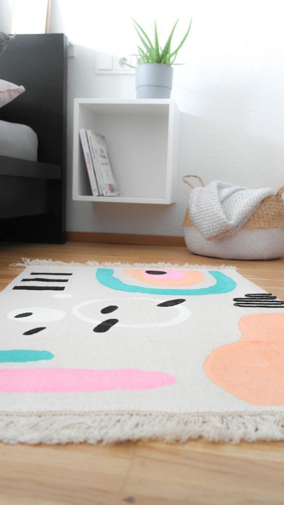Ikea Hack SORTSÖ - Werbe zum Teppich-Designer mit den Pintor Kreativmarker