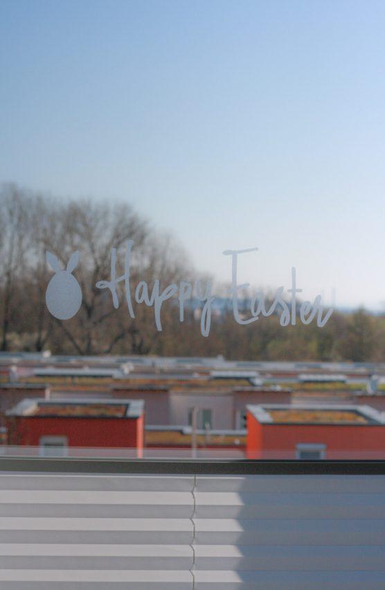 Fensterbilder mit Milchglasfolie einfach selber plotten und gestalten