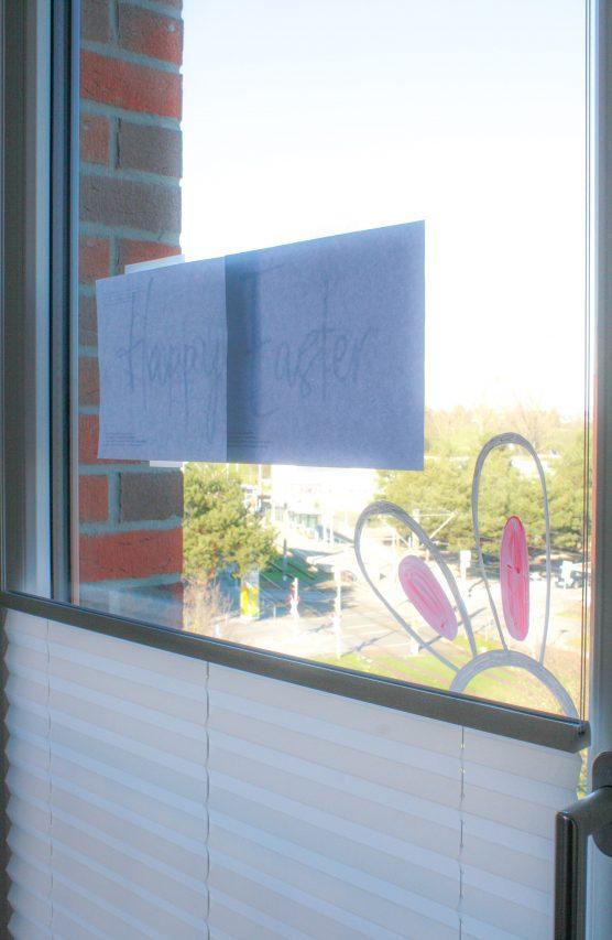 Fensterbilder mit Kreidemarker einfach gestalten Kinderleicht