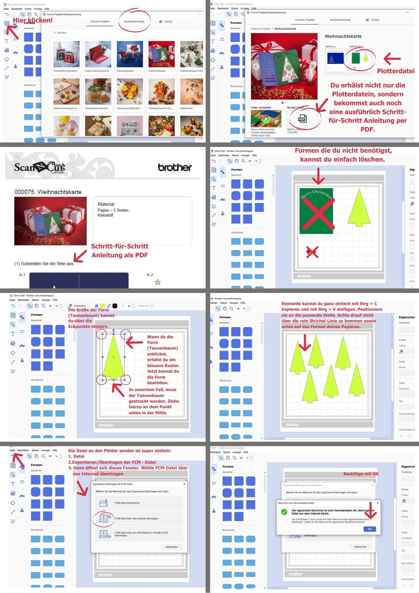 Eigene Elemente in der CanvasWorkspace erstellen und an den Plotter übertragen