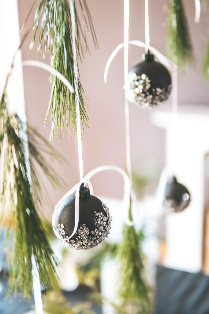 DIY Weihnachtskugeln aus ALT mach NEU