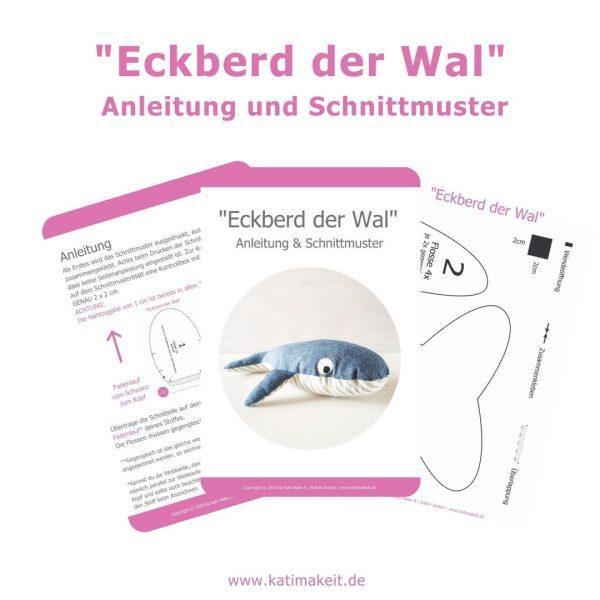 Schnittmuster Eckberd der Wal