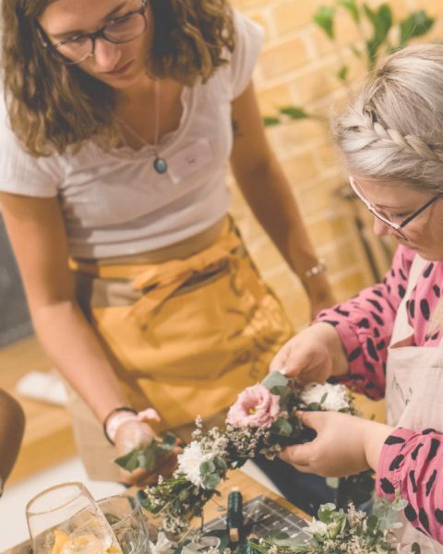 Bachelorette Party in und um Stuttgart feiern mit kreativen DIY-Workshops.