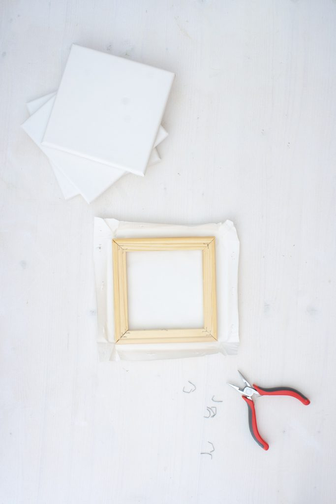 DIY Idee Pinnwand einfach selbermachen