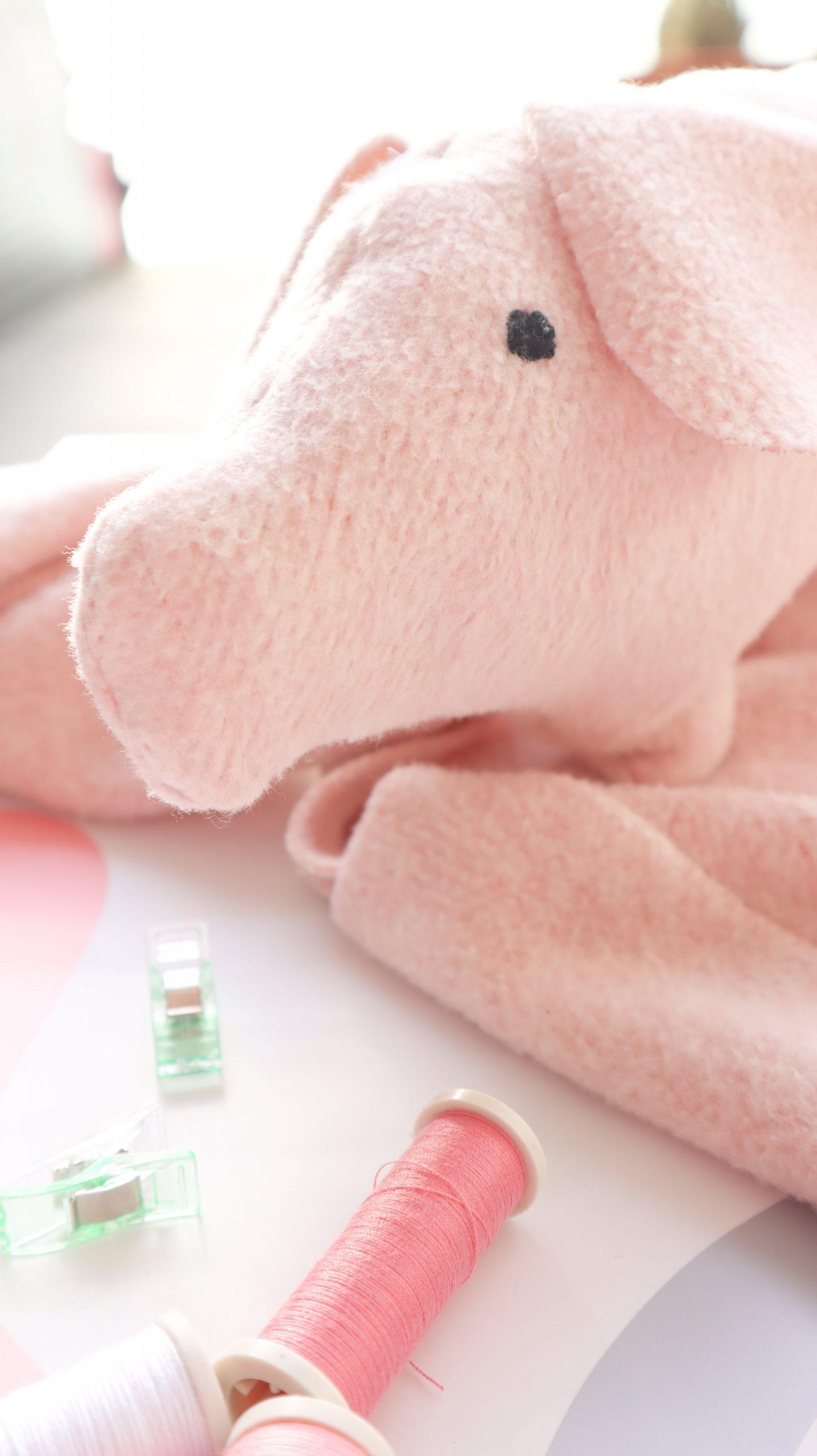 Nähen für Anfänger. Glücks-Schwein, Kuscheltier nähen nach Anleitung eBook