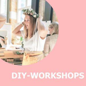 Kreative ONLINE DIY-Workshops