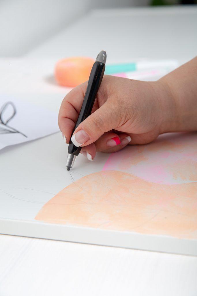 Pimp your Ikea Kalax Regal mit Pintor Kreativmarker