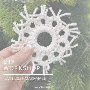 Makramee Weihnachtsworkshop