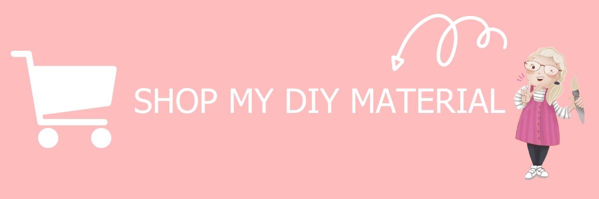 Shop my DIY materials